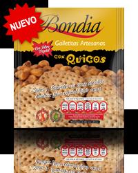 Bondia - Galletas con Quicos