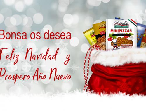 Bonsa les desea Feliz Navidad y próspero año 2019