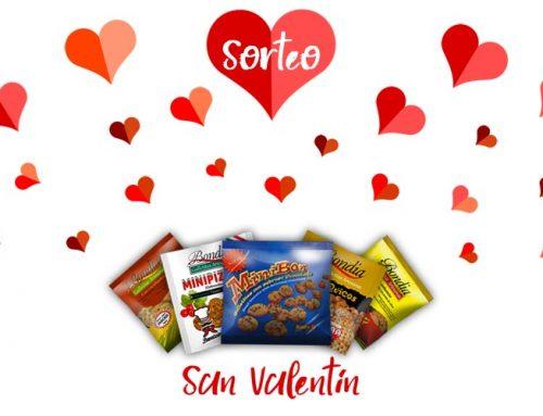 Sorteo de San Valentín. Gana un pack de galletas saludables Bonsa