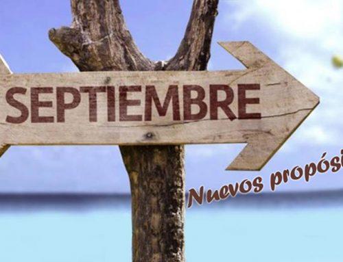 Septiembre, nuevos propósitos y objetivos