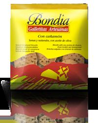 Bondia - Galletas con Cañamones