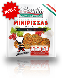 Bondia - Galletas sabor Pizza