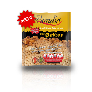 Bondia Galletas con Quicos