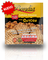 Bondia - Galletas con Quicos