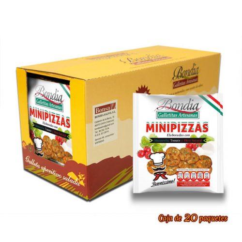 Caja de Galletas MiniPizza