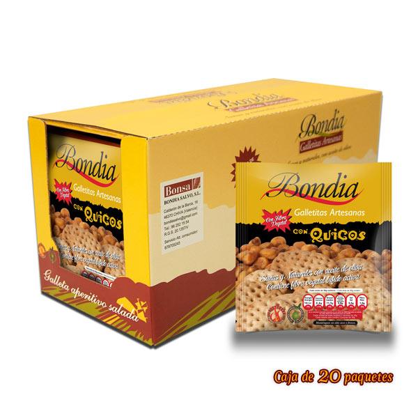 Caja de Galletas con Quicos
