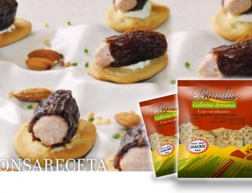 Ricetta: Date ripieni sul biscotto di arachidi